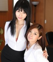 Mana Kitahara and Mami Toda